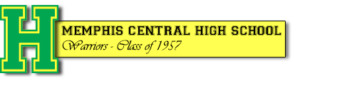 Central High School Class Of 1957 – Memphis, TN